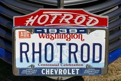 1939 Chevrolet (bballchico) Tags: licenseplate 1939 chevrolet pickuptruck ownerstever arlingtondragstripreunionandcarshow arlingtoncarshow 206 washingtonstate arlingtonwashington