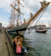 _DSC6892 (durr-architect) Tags: show heritage water netherlands dutch amsterdam river boat sailing harbour outdoor ships parade sail vehicle tall procession yachts nautical festivity naval ij replicas