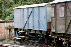Unidentified Box Van, Swanage Railway, Norden, Dorset