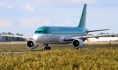 Aer Lingus Airbus A320-214 (EI-EDS) (Philippe Durieux) Tags: bordeaux bod aéroport bordeauxairport lfbd aéroportdebordeaux