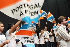 Pedro Passos Coelho e Paulo Portas no Distrito de Aveiro.