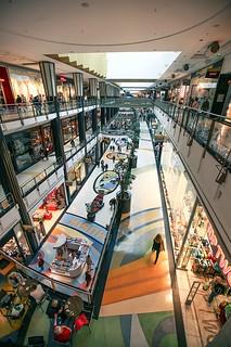 Einkaufszentrum Alexa