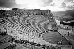 Segesta's Teatro @ Sicily (Italy)