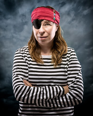 Pirate (Tortured Mind) Tags: portrait lens prime gear pirate type nikkor dslr 54 eyepatch ratio d800 85mmf14