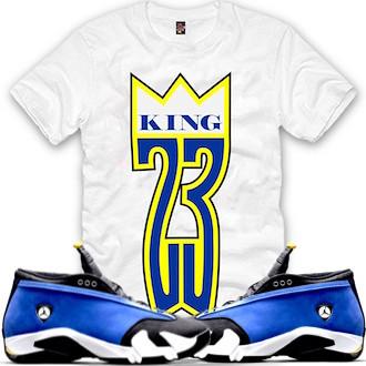 4b3e62f07b85db Jordan 14 Laney Shirt (XGEAR101) Tags hat socks shirt outfit clothing ...