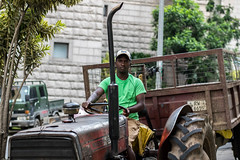 Tractor Driver (Aadil Chouji Schiffer) Tags: street boy people streets boys person photography streetphotography sri lanka photograph driver local srilanka kandy srilankan trator kcc kmc kandyan streetphotograph