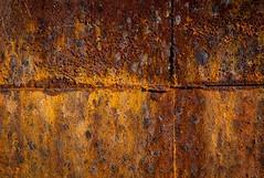 Oxidation (EXPLORED) (Katrina Wright) Tags: oxidation rust rustedwall texture pattern explored dsc8049