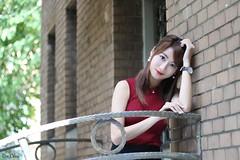 小嘉@ (玩家) Tags: portrait girl female 50mm model glamour pretty outdoor taiwan taipei cupid 台灣 台北 人像 台大 外拍 2015 正妹 模特兒 戶外 無後製 小嘉 邱比特 無修圖 張嘉庭