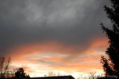 November 15, 2015 - A soft sunset in Thornton. (LE Worley)