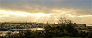 Morning Light over Stonehouse, Plymouth