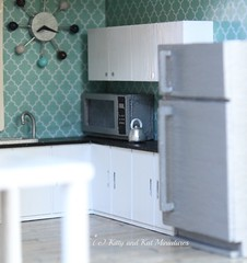 The Kitchen - The Half Scale (1:24) Build (Kitty and Kat Miniatures) Tags: miniatures miniature diy mini 124 build dollhouse minietchers