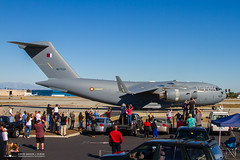 C-17A N275ZD (A7-MAN) Qatar Emiri Air Force (PhantomPhan1974 Photography) Tags: leave beach long final lgb c17 boeing klgb longbeachairport c17a globemasteriii a7man qataremiriairforce n275zd c17flybye c17an275zd