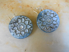 DSCN3312 (katerina66) Tags: texture handmade jewellery polymerclay earrings handmadejewellery