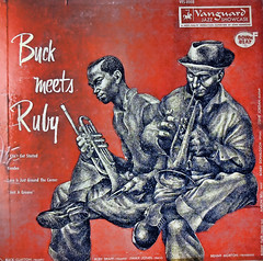 Buck Meets Ruby (Old 1954 Recording) (A Political Kind Of Day!) Tags: old orange art drawing horns 1954 ruby buck recording vanguard 61 3313 somethingold 10inch projectflicker nikond5500