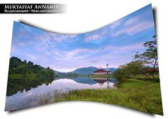 Hening Pagi Itu | Landscape (AnNamir c[_]) Tags: photoshop landscape islam mosque filter serenity malaysia masjid jakim suci photomerged tenang annamir darulquran raymasters