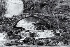 The Old Bridge (MacLeanPhotographic) Tags: bridge blackandwhite landscape mono scotland highlands fujifilm glenlyon highlandsofscotland xt1 xf50140mmf28