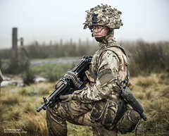 Member of 34 Squadron armed with the Light Machine Gun (Defence Images) Tags: uk terrain landscape soldier clothing gun action unitedkingdom military equipment camouflage weapon british grassland defense a2 defence lmg machinegun northyorkshire raf mtp firearm squadron headwear sa80 aiming scrim sqn royalairforce assaultrifle combats rafregiment 556mm northallerton smallarms lightmachinegun 34squadron 34sqn offensivesupport multiterrainpattern theroyalairforceregiment