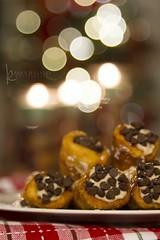 115in2015 #57 food from fiction (Karen Juliano) Tags: christmas dessert italian chocolate delicious homemade godfather cannolis bakeitforward