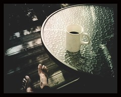 National Coffee Day... (iEagle2) Tags: feet coffee table iphone iphone4