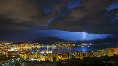 AJACCIO ORAGE-3 (philippemurtas) Tags: orage nature eclaire forcedelanature incroyable corse france nuit longpose storm enlightened forceofnature incredible corsica night longexposure