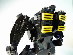 P1010204 (obscurance) Tags: lego ghostintheshell standalonecomplex armsuit moc zio afol thinkingtank military tachikoma