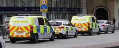 British Transport Police (999 Response) Tags: british transport police yx16ftd yx16fsu kingscross stpancras railway station