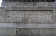 ANTONIO LÓPEZ I LÓPEZ (Yeagov_Cat) Tags: 2016 barcelona catalunya fredericmarés monumentaantoniolópezilópez plaçaantoniolópez plaçadantoniolópez venancivallmitjana 1876 marquésdecomillas banquer navilier esclavista empresari lluíspuiggener joanroigsolé rossendnobas francescpagèsserratosa 1944