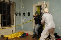 """""""HAUNTED HOUSE"""" (Michael P Bartlett) Tags: rstileshauntedhouse argyle scary clowns hauntedhouse rstileshouse"""