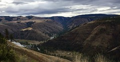 Weekend Getaway on the Grande Ronde River (Doug Goodenough) Tags: bike cycle bicycle dodge ram 1500 ecodiesel forest river rpod 171 gravel oregon travel trailer camp camping outdoors 2016 october oct drg53116 drg53116p surly krampug pugsley ride pedals spokes drg531
