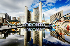 Toronto (Cindy's Here) Tags: architecture xoto reflections tourists cityscape downtown toronto ontario canada canon studio26architecture birds