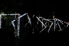 2016 - 14.10.16 Enchanted Forest - Pitlochry (42) (marie137) Tags: enchanted forest pitlochry mobrie137 scotland lights music people water reflection trees shows food fire drink pit patter shapes art abstract night sky tour family walk path bells smoke disco balls unusual whisperer bridge wood colour fun sculpture day amazing spectacular must see landscape faskally shimmer town