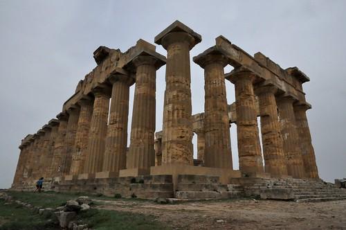 a1w. Selinunte (Sicilia-Italia). Templo E o de Hera