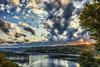 Summersville Lake Autumn Sunrise (travelphotographer2003) Tags: autumn fall sunrise serene westvirginia nicholascounty summersvillelake dam summersvilledam earthendam gauleyriver westvirginiaâslargestlake outdoorrecreation manmadelake usarmycorpsofengineers falldrawdown lowwater pier beautyinnature