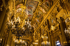 Palais Garnier - Grand Foyer (alexandres3) Tags: paris palais garnier opera grand foyer gold