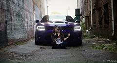 Suicide Squad photo shoot 2016 (G's16PCPScat) Tags: joker hemi srt rt mopar model ally photoshoot photography suicidesquad harleyquinn purple plumcrazy 2016chargerscatpack