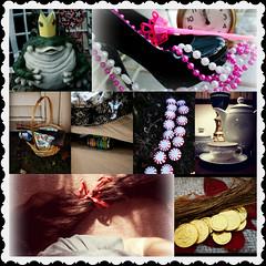 Fairy Tales (Jules (Instagram = @photo_vamp)) Tags: fairytales photochallenge cinderella frogprince rapunzel beautythebeast redridinghood princessthepea hanzelgretal rumpelstilskin collage