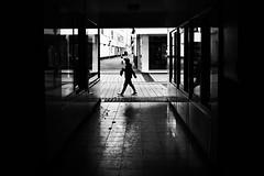 (formwandlah) Tags: kaiserslautern sunny day winter street photography streetphotography silhouette silhouettes silhouetten shadow schatten dark noir urban candid city strange gloomy cold sureal bizarr skurril abstract abstrakt melancholic melancholisch darkness light bw blackwhite black white sw monochrom high contrast ricoh gr pentax formwandlah thorsten prinz licht shadows fear paranoia einfarbig schwarzer hintergrund nacht fotorahmen spiegelung reflection reflektion schrfentiefe brgersteig landstrase kleiner junge litle boy kind kid child