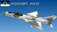 Lel-11 (Awesome-o-saurus) Tags: lego su11 fighter jet