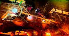 path of least resistance (ghostsoffire) Tags: secondlife jinxjinx spookyboopuddleglum scifi cyberpunk alien fightscene