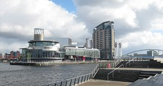 Salford Quays The Lowery (streetr's_flickr) Tags: salfordquays manchester mediacity
