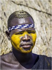 Mursi Tribe Warrior (Luc V. de Zeeuw) Tags: ethiopia mun mursi omo omovalley tribe warrior southernnationsnationalitiesandpeoplesregion