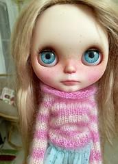 Sweet Ava (Chassy Cat) Tags: blingbling blingblingpartyfur blythe custom customized doll forty fortywinks fur neo party rbl takara puppelina eyechips pattyparis patty paris alpaca reroot blonde