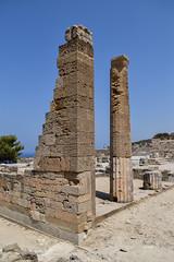 Fountain Square (lGBSl) Tags: ancient square plinth fountain kameiros island city greece column pillar rhodes greek
