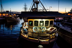Fishing boat, Oslo, Norway (Davide Tarozzi) Tags: fish oslo norway fisherman boat fishingboat kongeriketnoreg kongeriketnorge norvegia barcadapesca pescatore notte
