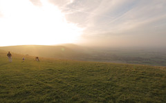 Devils Dyke Sussex (Adam Swaine) Tags: sussex sunsets dusk southdowns nationalparks england english britain british swaine 2016 adamswainecouk landscapes devilsdyke autumn light countryside counties