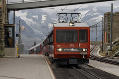 Gornergrat (fgrsimon) Tags: gornergratbahn gornergrat ggb bhe48 3054 swissrailways switzerland valais