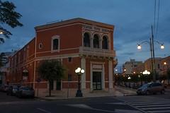 Teatro Tito Shipa, Gallipoli (Peder Sterll) Tags: italia italiy puglia gallipoli nikon d7100 teatro tito shipa blue hour nikkor 24mm f14