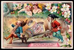 Liebig Tradecard S632 - Gnomes and Elves (cigcardpix) Tags: tradecards advertising ephemera vintage liebig chromo