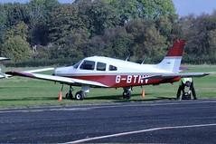 G-BTNV (LIAM J McMANUS - Manchester Airport Photostream) Tags: gbntv piper pa28 pa28161 p28a cherokee warrior pipercherokee cherokeewarrior cherokeewarriorii cityairportmanchester barton egcb