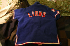 recent puchase..too Kool to pass up (bballchico) Tags: jersey warmup vintage old sports mhslions 3